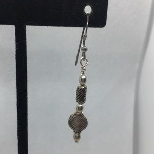4 for $12: Simple Silver Tone Earrings